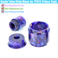 Epoxy Resin Replacement Tube Cartridge Drip tips & RDA Base ...