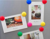 Красочные круглые пластиковые магниты на холодильник доска стикер холодильник магниты детские подарки украшения дома бесплатная доставка Оптовая горячая продажа