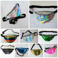 9 colors Women Fanny Pack PU Laser Purse Should Waist Chest ...