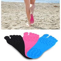 Wholesales Nakefit Soles Invisible Beach Shoes Foot Pads Pre...
