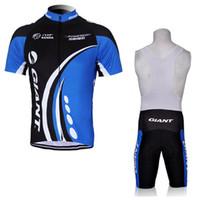 Equipo gigante Ciclismo Mangas cortas Jersey BIB Shorts Sets Racing Bike MTB Ciclo Ropa Use Ropa Ciclismo Sportswear H041737