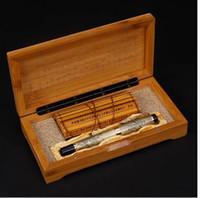 Jinhao antica penna stilografica drago cinese orientale grigio con scatola originale spedizione gratuita