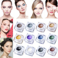 50pcs lot DHL IMAGIC 12 Colors Eyeshadow Cream Waterproof Lo...