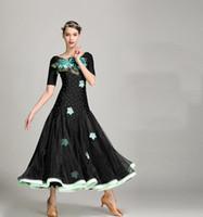 Neue hohe Qualität Frauen moderne Ballsaal Walzer Tango Samba Wettbewerb Tanzkleid für Leistung für Erwachsene