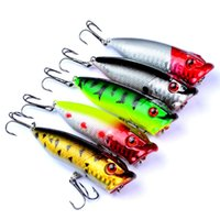 5- color 7. 3cm 12. 15g Popper Plastic Hard Baits & Lures Fishi...