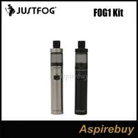 100% Orijinal Justfog FOG1 Başlangıç Kitleri 1.99ml Tanklar ve Tasarlanmış Anti-Spit Bobin ile 1500 mah FOG1 Pil