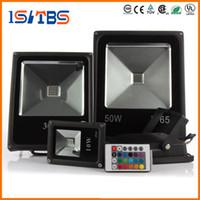 Projecteur LED AC85V-265V Projecteur LED 10W 20W 30W 50W RVB Réflecteur étanche IP65 Led Projecteur de jardin Projecteur Lampe d'extérieur