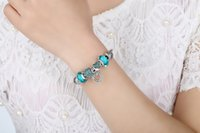 20CM New Fashion European Charm Bracelets For Women 925 Ster...