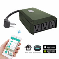 Wireless Wifi Outdoor Waterproof Outlet Work with Alexa and ...