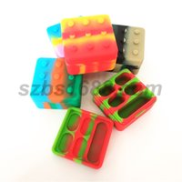 2pcs lot 26ml 4+ 1 containers assorted color silicone contain...