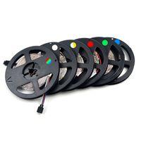 Бесплатная доставка 100 м много 3528 5050 SMD RGB 12 В Водонепроницаемый не водонепроницаемый светодиодные гибкие полоски света 300 светодиодов 5 м ленты огни хорошее качество