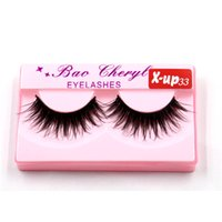 100% Supernatural Lifelike handmade false eyelash 3D strip m...