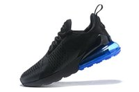 2018 Men Flair Triple Black 270 Running Shoes Womens 27C Tra...