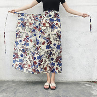 Traditional Thailand Clothing Floral Sarong Skirt Summer Cas...