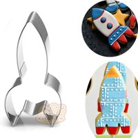 10pcs cartoon rocket Metal cookie cutter biscuit tool handma...