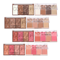 NEW 4 Colors Concealer Palette Face Makeup Base Contouring P...