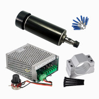 Luftgekühlte CNC-Spindel 500W Mach3 Netzteil 52MM Klemme ER11 Spannzange mit Cnc-Tools