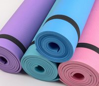 The new bag edge yoga mat for beginners lengthened the women...
