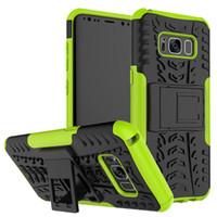 Kickstand plastique cas d'armure antichoc pour Zenfone 5 Lite 5Q ZC600KL 5Z ZS620KL 5 ZE620KL Max Plus ZB570TL couverture arrière dure avec housse de support