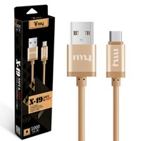 X- 19 Safe Fast Data Charging Cable 2. 1A Metal Android Micro ...
