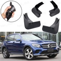 Nuevo 4 unids Guardabarros Guardabarros Guardabarros Fender guardabarros apto para Mercedes-Benz GLC AMG Line 2017