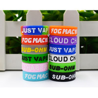 Gravure Silicone Vape Band Engraved Logo Colorful Silicon Be...