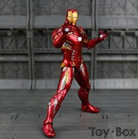 Captain America Civil Clint Iron Man Tony Stark Cartoon Toy ...
