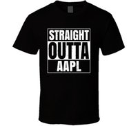 Straight Outta AAPL Stock T Shirt