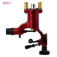 Atomus Profesional Machine de tatouage Machine de cartouche Machine de tatouage rotative pour les kits de shader et de doublure fournit deux machines RCA articulaires