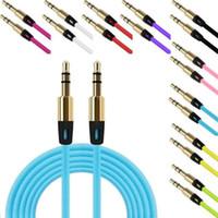 Cable Cavi audio 3.5mm maschio a maschio Car Stereo estensione audio per MP3 Bluetooth Speaker No Pacchetto