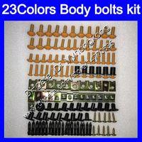 Fairing Bolts Full skruvkit för Suzuki GSXR750 GSXR600 11 12 13 14 GSXR 600 750 2011 2012 2013 2014 2015 K11 Kroppsnötter Skruvar Mutter Bolt Kit