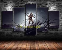 Dishonored Death of The Outsider, 5 Pieces Home Decor HD Prin...