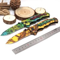 Tactical Folding Knife Hunting Rescue Survival Knife Pocket ...