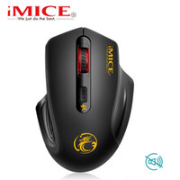 iMice Silent USB Wireless Mouse 2000DPI USB 3. 0 Receiver Opt...