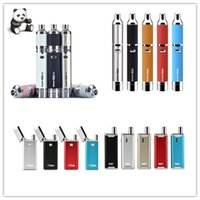 Аутентичный Yocan Evolve plus XL Evolve Hive Evolve Flick Starter Kit Wax Dry Herb Pen Vaporizer с 650 / 1100mAh восковым распылителем