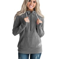 Plus Size 3XL Hoodie Pullovers 2019 Autumn Winter Long Sleev...