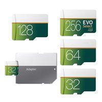 256GB 128GB 64GB 32GB 16GB EVO 메모리 선택 SD TF 트랜스 플래시 카드 U1 U3 고속 클래스 10