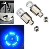 Светлячок говорил светодиодные колеса клапан стволовой крышки шины движения неоновый свет лампы для велосипеда велосипед автомобиль мотоцикл