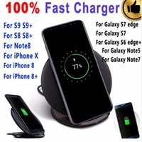 10W Qi Fast Wireless Charger for Samsung Galaxy S6 S7 Edge S...
