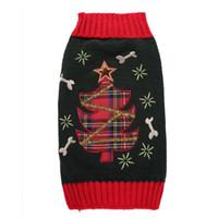 Costumi per cani Costumi per Natale Capodanno Albero di Natale Modelli per maglieria Autunno Inverno Maglioni caldi per cani