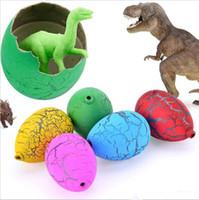 Magic Water Schlüpfen Inflatale Wachsende Dinosaurier-Eier-Spielzeug für Kinder Geschenk-Kind-pädagogische Neuheit Gag Spielzeug Ei
