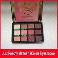 New face Just Peachy Mattes Eyeshadow Palette 12 colori Ombretto Makeup opaco tavolozza ombretto
