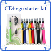 2018 CE4 kit de arranque do ego CE4 Blister kits e cig 650 mah 900 mah 1100 mah EGO-T blister bateria caso Clearomizer E-cigarro