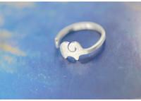 30 unids oro / plata pequeño anillo de elefante Dumbo Flying Elephant Ring anillo de ajuste regalo de la joyería del anillo para el mejor amigo