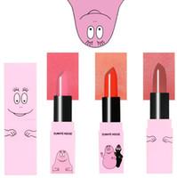 3CE Eunhye CASA Marca caliente de la venta de maquillaje lápiz de labios de larga duración mate impermeable de carmín barra de labios Prueba