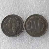 US 1882 TRE NICI DA CENTINA Moneta Copia monete accessori per la casa