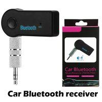 De haute qualité d'une voiture Bluetooth Récepteur Portable 4.1 Adaptateur Bluetooth Adaptateur auxiliaire pour voiture audio musique mains libres Kits de voiture avec forfait