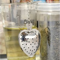 Heart Infuser Filter Stainless Steel Tea Strainer Reusable M...