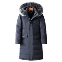 90% white duck down men winter jacket high quality clothing ...
