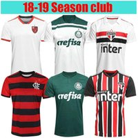 top quality 2018 2019 Flamengo Sao Paulo Palmeiras Internacional Gremio  Home Away Soccer Jersey 18 19 Corinthian Brazil third Football Shirt f8e647cef